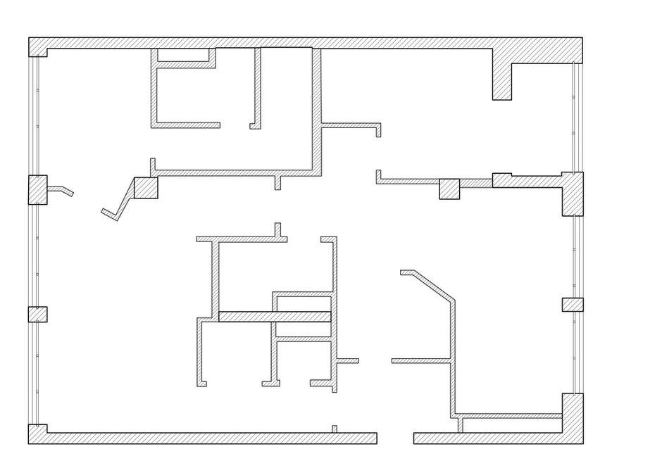 Фотография: Планировки в стиле , Лофт, Квартира, Проект недели, Москва, Ариана Ахмад, Монолитный дом, 4 и больше, Более 90 метров – фото на INMYROOM