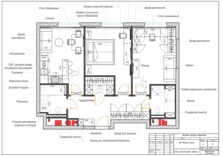 Фотография:  в стиле , Современный, Квартира, Проект недели, Москва, 3 комнаты, 60-90 метров, Карина Римик – фото на INMYROOM
