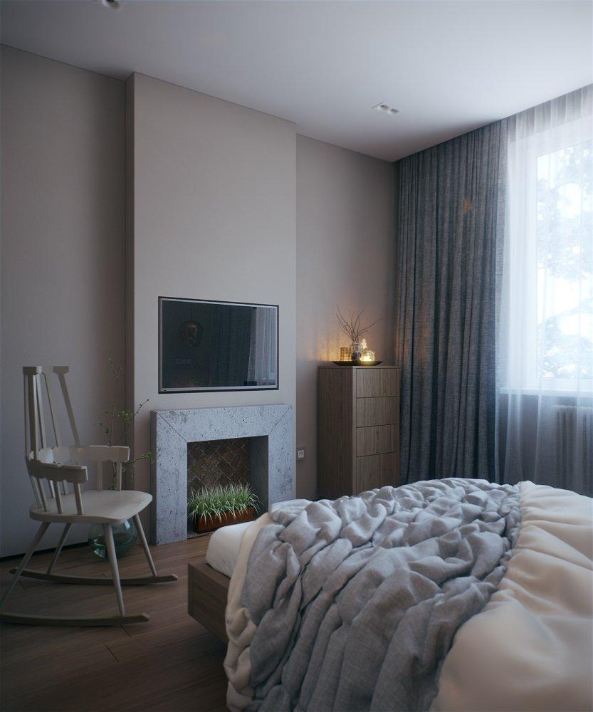 Фотография: Спальня в стиле Скандинавский, Квартира, BoConcept, KARE Design, Дома и квартиры, Проект недели, Kartell – фото на INMYROOM