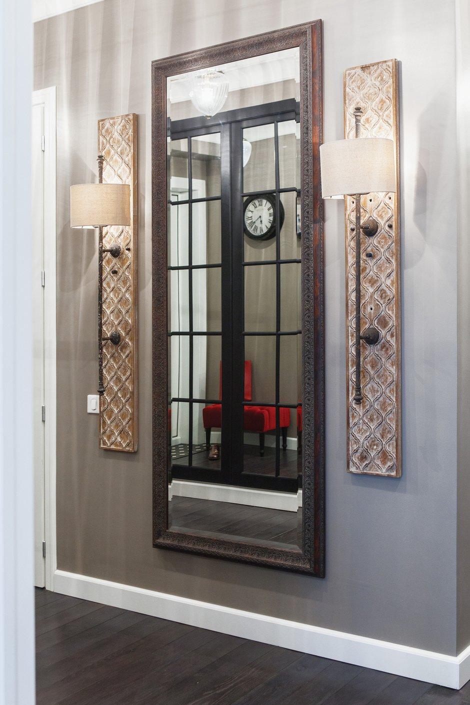 Фотография: Прихожая в стиле Эклектика, Квартира, Дома и квартиры, Надя Зотова – фото на INMYROOM
