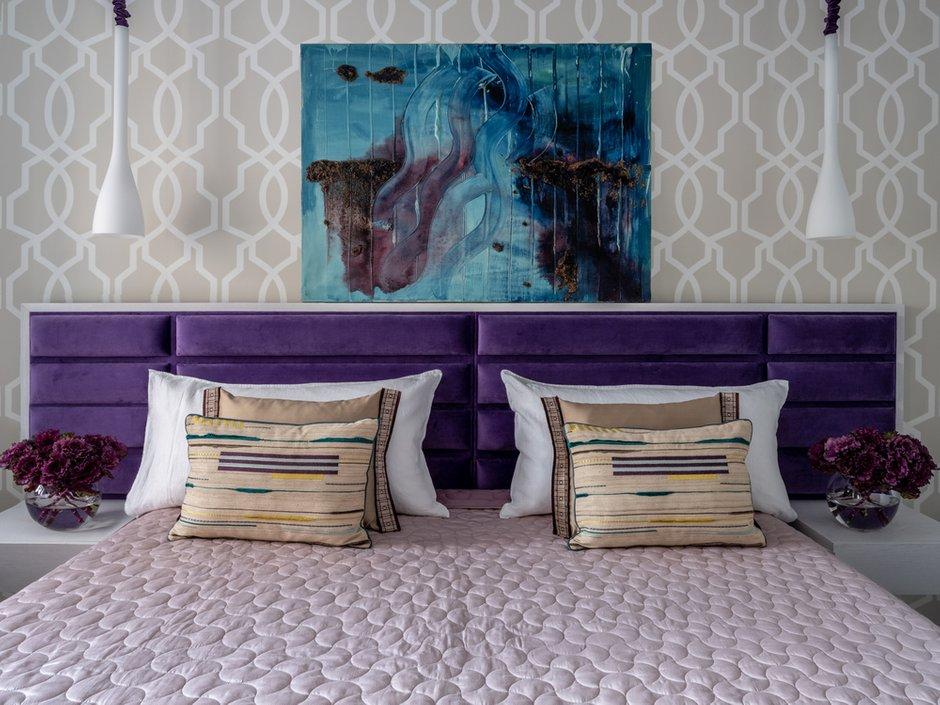 Фотография: Спальня в стиле Современный, Квартира, Проект недели, Москва, П-55, Панельный дом, 4 и больше, 60-90 метров, Анна Елина – фото на INMYROOM