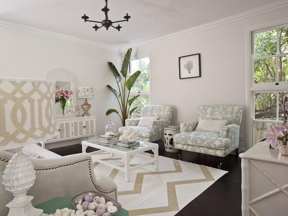 Фотография: Гостиная в стиле , Декор интерьера, Дизайн интерьера, Цвет в интерьере, Белый, Dulux, ColourFutures, Краски – фото на INMYROOM