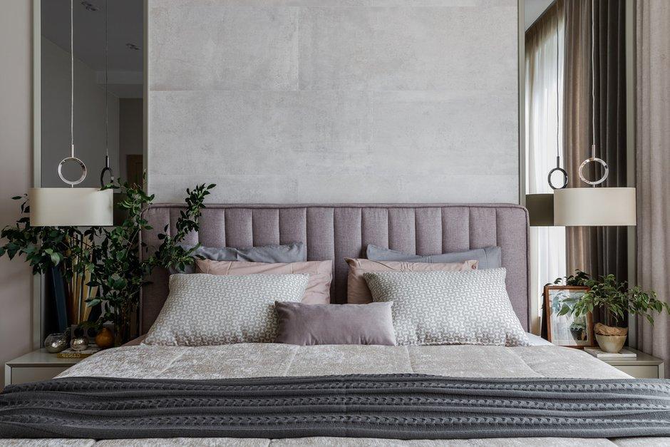 Фотография: Спальня в стиле Современный, Квартира, Проект недели, Москва, 3 комнаты, 60-90 метров, Мариям Тагиева – фото на INMYROOM