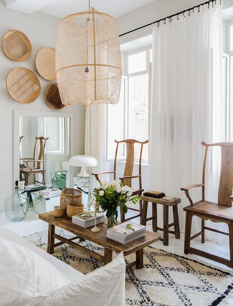 Фотография: Гостиная в стиле Современный, Скандинавский, Декор интерьера, Малогабаритная квартира, Квартира, Цвет в интерьере, Дома и квартиры, Белый – фото на INMYROOM