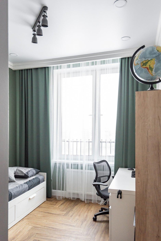 Фотография: Детская в стиле Современный, Квартира, Проект недели, 3 комнаты, 60-90 метров, Тюмень, Александра Хасанова – фото на INMYROOM