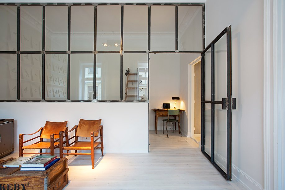 Фотография: Гостиная в стиле , Скандинавский, Малогабаритная квартира, Квартира, Дома и квартиры, Стокгольм – фото на INMYROOM