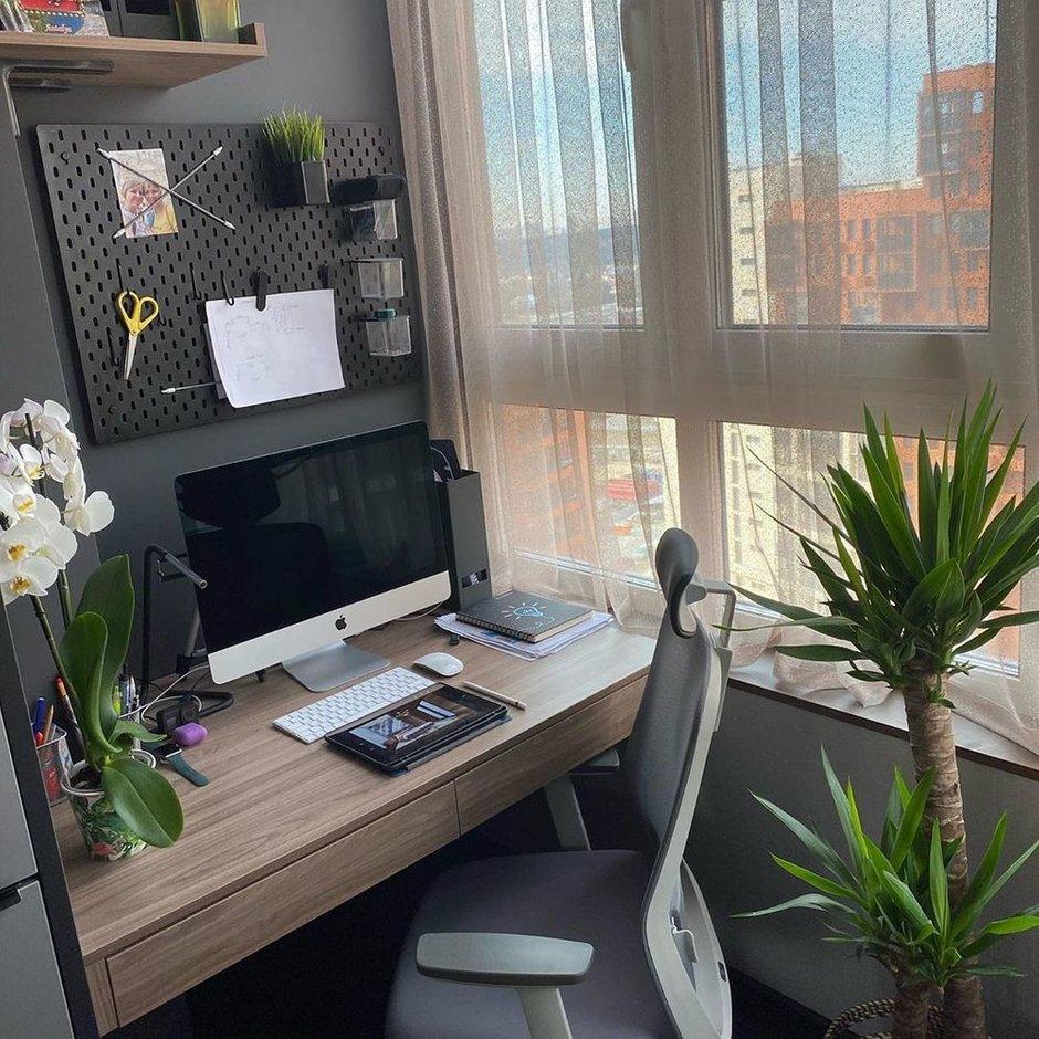 Фотография:  в стиле , Современный, Квартира, Проект недели, Дарья Дубкова, 1 комната, до 40 метров, Сбербанк, домклик, сбербанк страхование – фото на INMYROOM