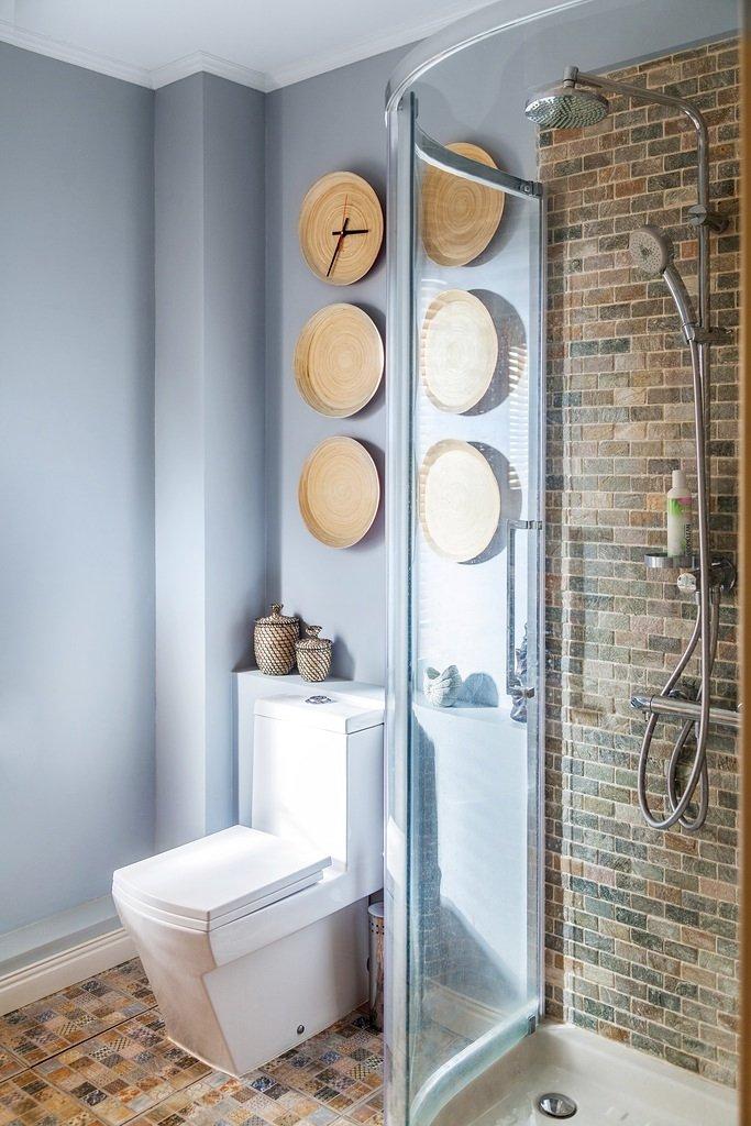 Фотография: Ванная в стиле Лофт, Классический, Эклектика, Дом, Проект недели – фото на INMYROOM