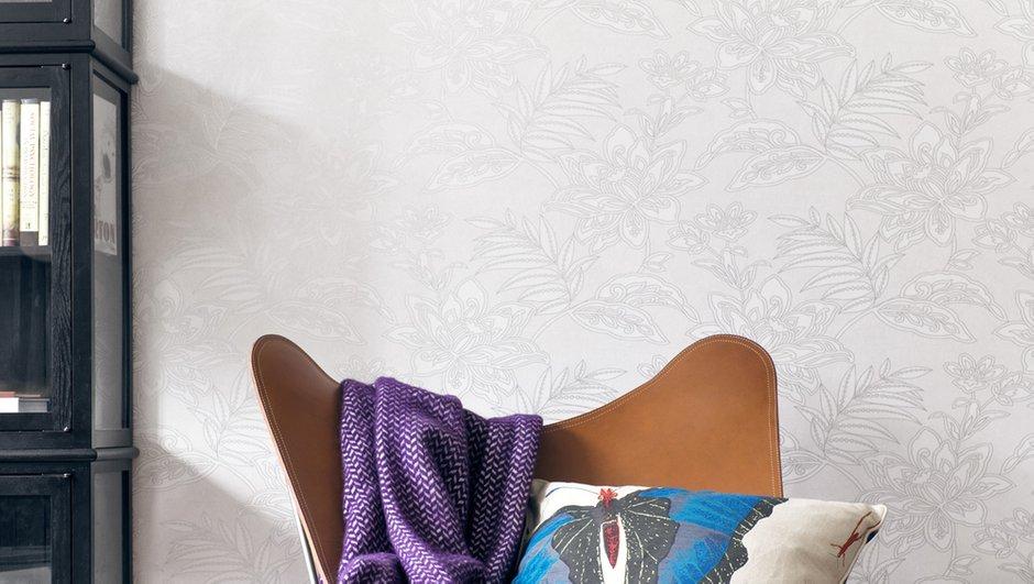 Фотография: Декор в стиле Скандинавский, Современный, Декор интерьера, Дизайн интерьера, Цвет в интерьере, Обои, Стены, Эко – фото на INMYROOM