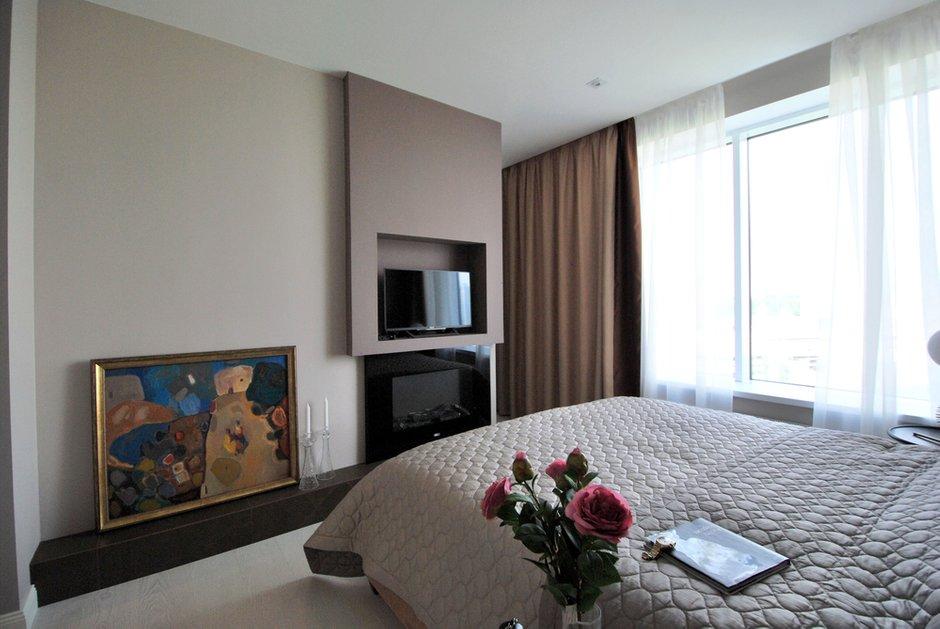 Фотография: Спальня в стиле Современный, Классический, Квартира, Проект недели, Екатеринбург, Монолитный дом, 3 комнаты, Более 90 метров, MEDIANA interiors – фото на INMYROOM