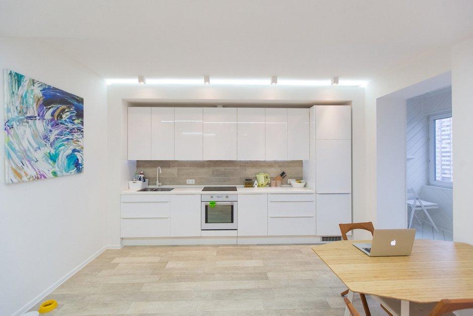 Фотография: Кухня и столовая в стиле Современный, Квартира, Дома и квартиры, IKEA, Проект недели, Москва – фото на INMYROOM
