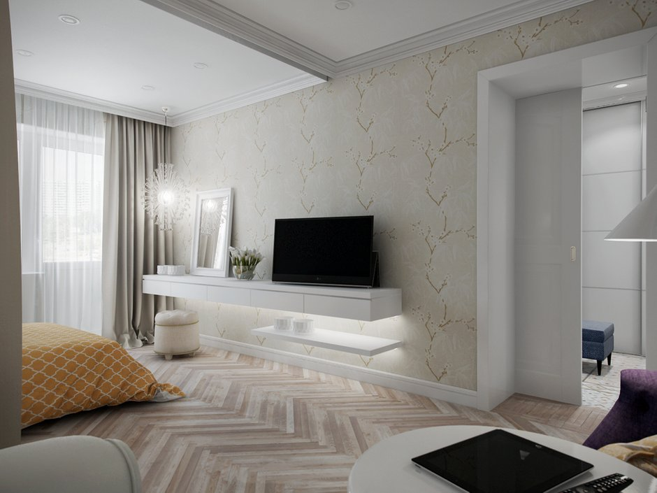 Фотография: Спальня в стиле Прованс и Кантри, Эклектика, Современный, Квартира, Проект недели – фото на INMYROOM