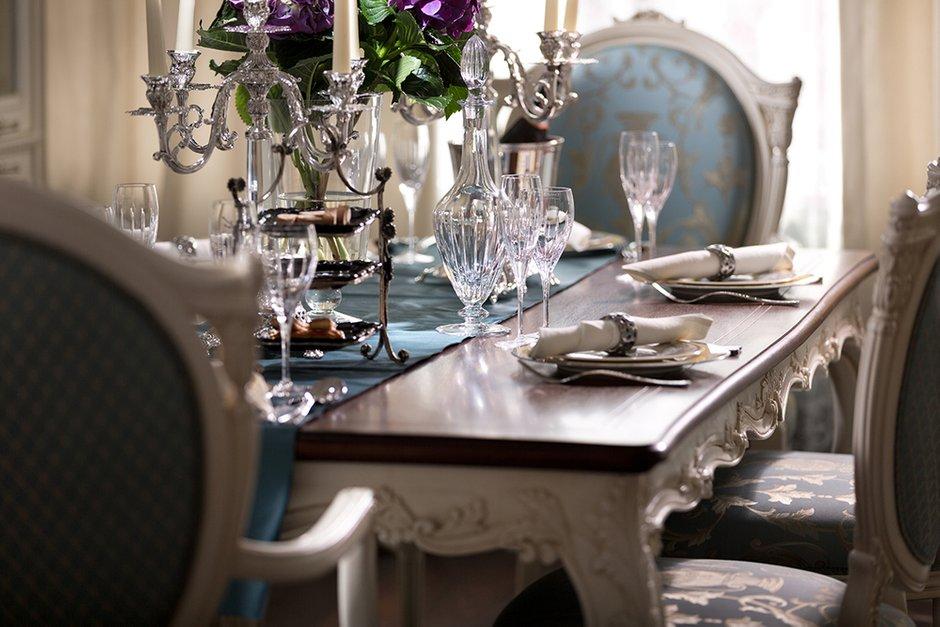 Фотография: Кухня и столовая в стиле Классический, Квартира, Дома и квартиры, Пентхаус – фото на INMYROOM