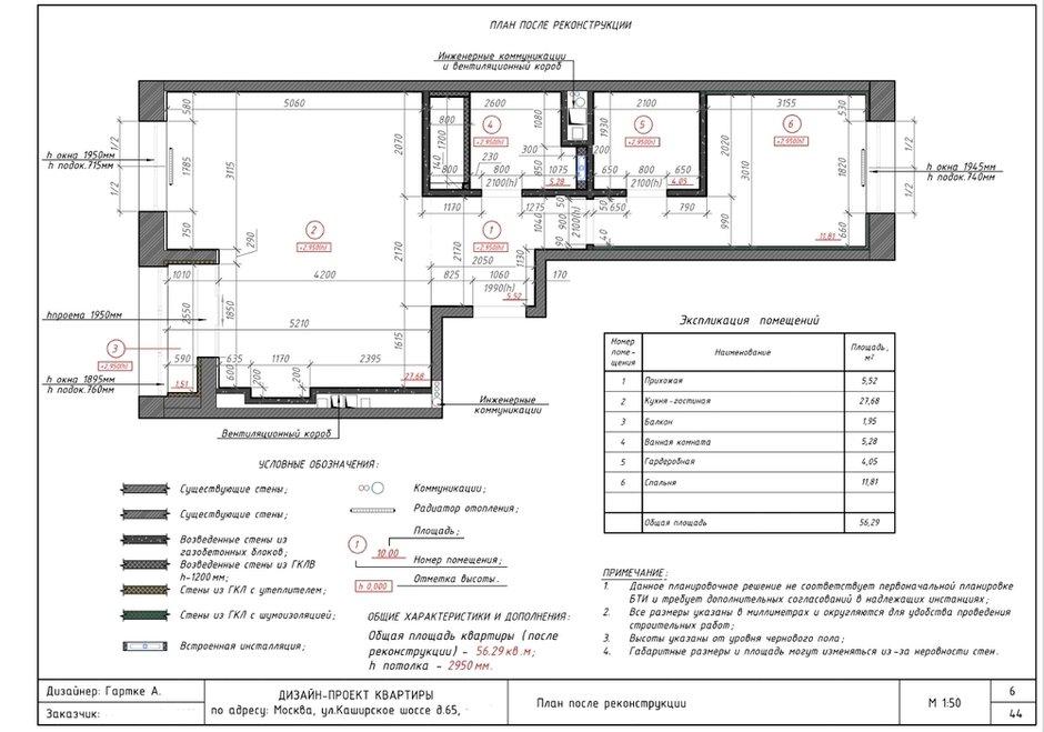 Фотография: Планировки в стиле , Современный, Квартира, Проект недели, 2 комнаты, 40-60 метров, Александра Гартке – фото на INMYROOM