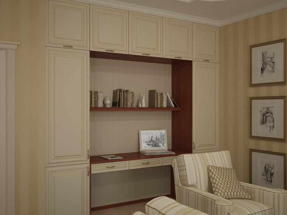 Фотография: Гостиная в стиле Классический, Квартира, Дома и квартиры, Москва – фото на INMYROOM