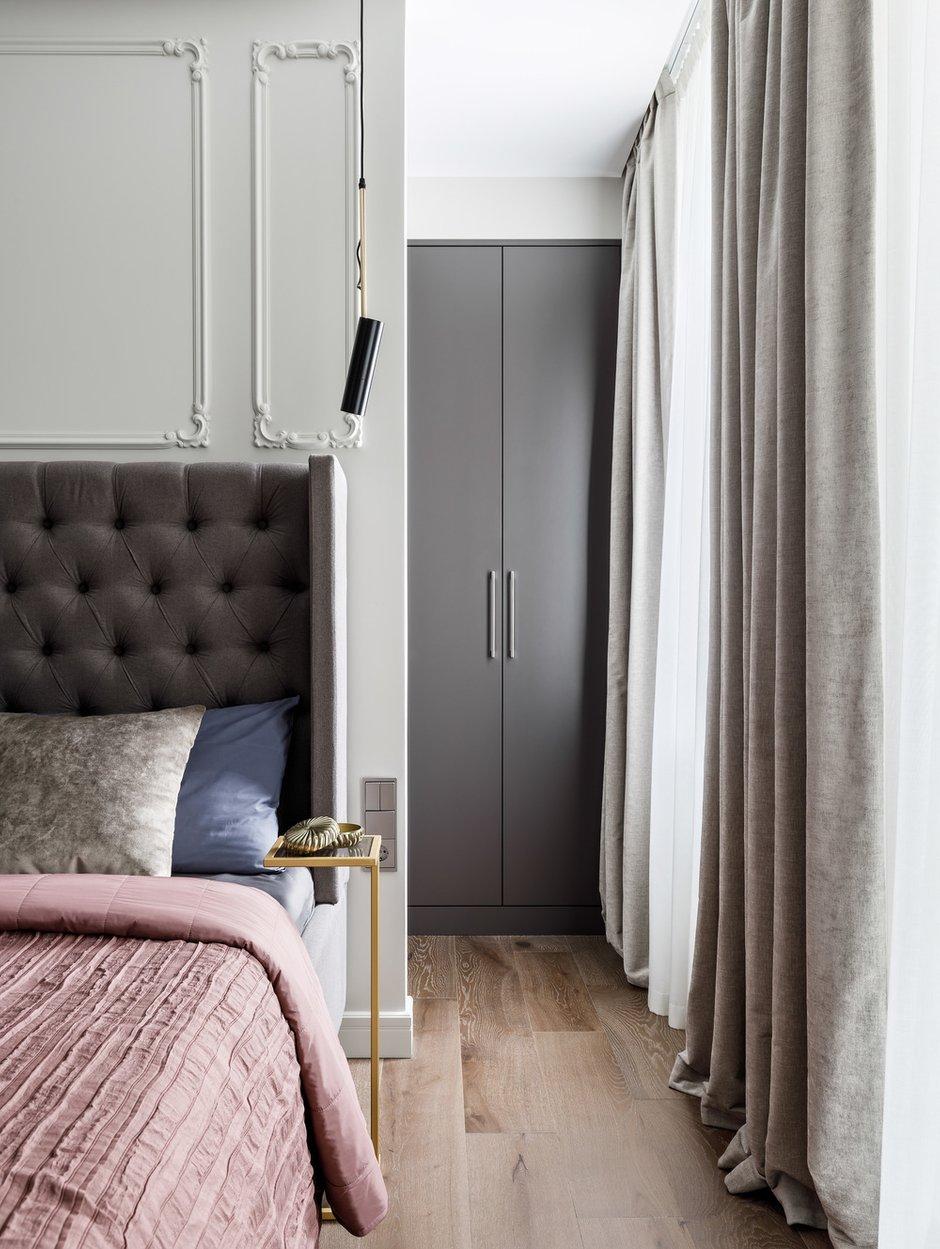 Фотография: Спальня в стиле Современный, Квартира, Проект недели, Санкт-Петербург, 4 и больше, Более 90 метров, ARCA design – фото на INMYROOM