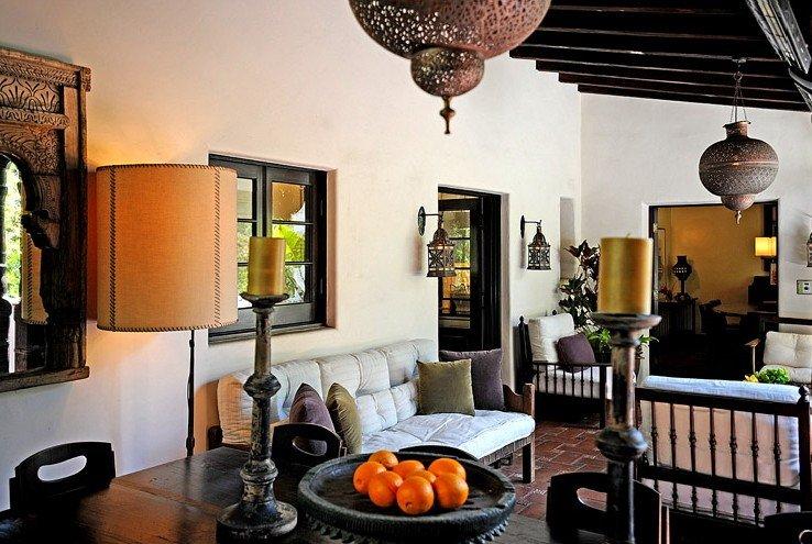 Фотография: Гостиная в стиле Прованс и Кантри, Дом, Дома и квартиры, Интерьеры звезд, Калифорния – фото на INMYROOM
