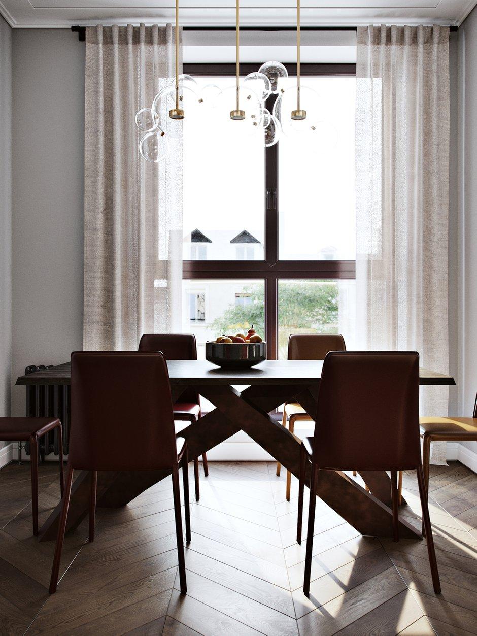 Фотография: Кухня и столовая в стиле Минимализм, Miele, Проект недели, Москва, 4 и больше, Более 90 метров, Aiya Design, ЖК «Red Side» – фото на INMYROOM