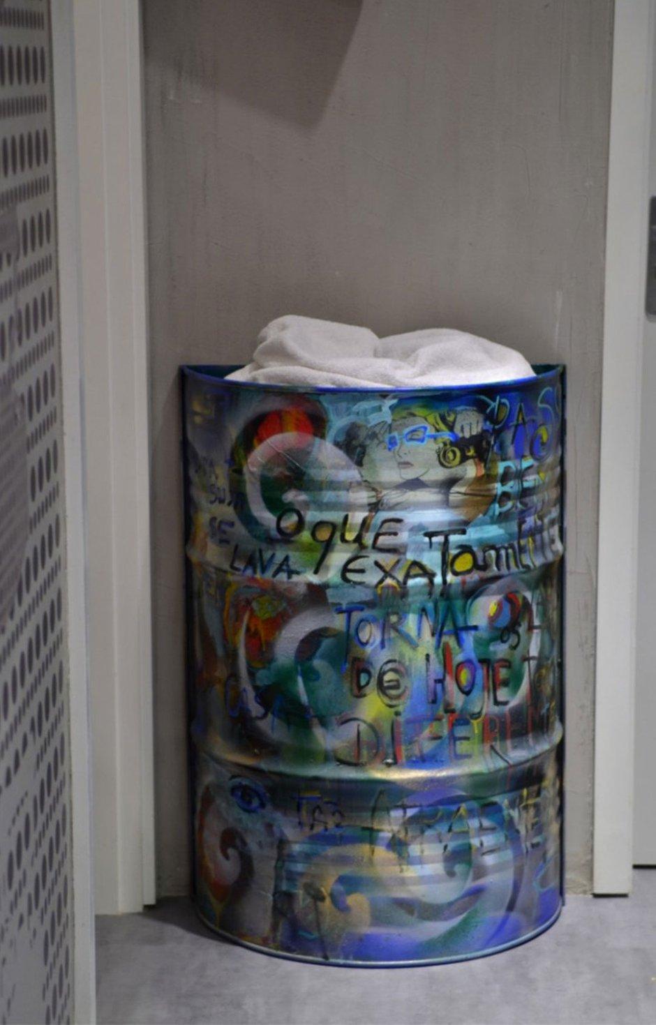Фотография: Декор в стиле Лофт, Кухня и столовая, Интерьер комнат, Проект недели, Граффити – фото на InMyRoom.ru