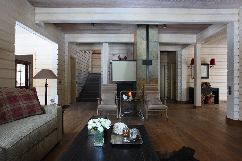 Фотография: Гостиная в стиле Скандинавский, Современный, Декор интерьера, Дом, Fabbian, Дома и квартиры, IKEA, Шале – фото на INMYROOM