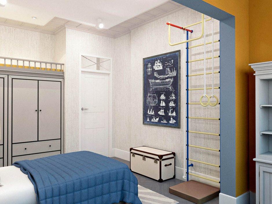 Фотография: Детская в стиле Скандинавский, Современный, Классический, Эклектика, Квартира, Проект недели – фото на INMYROOM