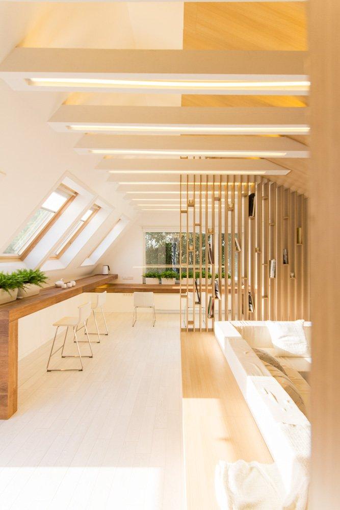Фотография: Гостиная в стиле Лофт, IKEA, Мансарда – фото на INMYROOM