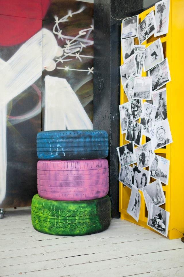 Фотография: Декор в стиле Лофт, Декор интерьера, Освещение, Дизайн интерьера, Цвет в интерьере, Ольга Евдокимова – фото на INMYROOM