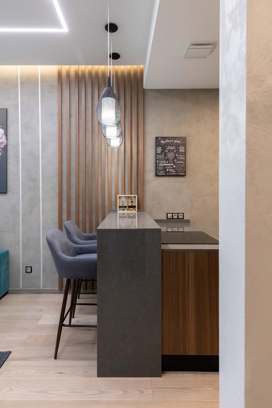 Фотография: Кухня и столовая в стиле Современный, Квартира, Проект недели, Москва, 2 комнаты, 40-60 метров, Deus of House – фото на INMYROOM