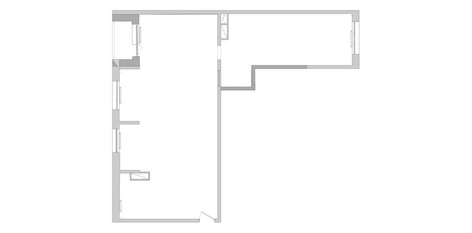 Фотография: Планировки в стиле , Эклектика, Квартира, Проект недели – фото на INMYROOM