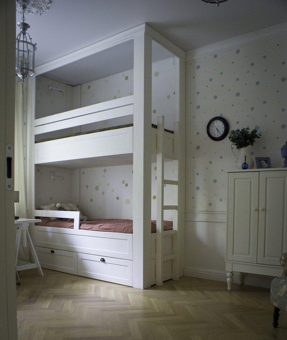 Фотография: Детская в стиле , Современный, Квартира, Дома и квартиры, Проект недели – фото на INMYROOM