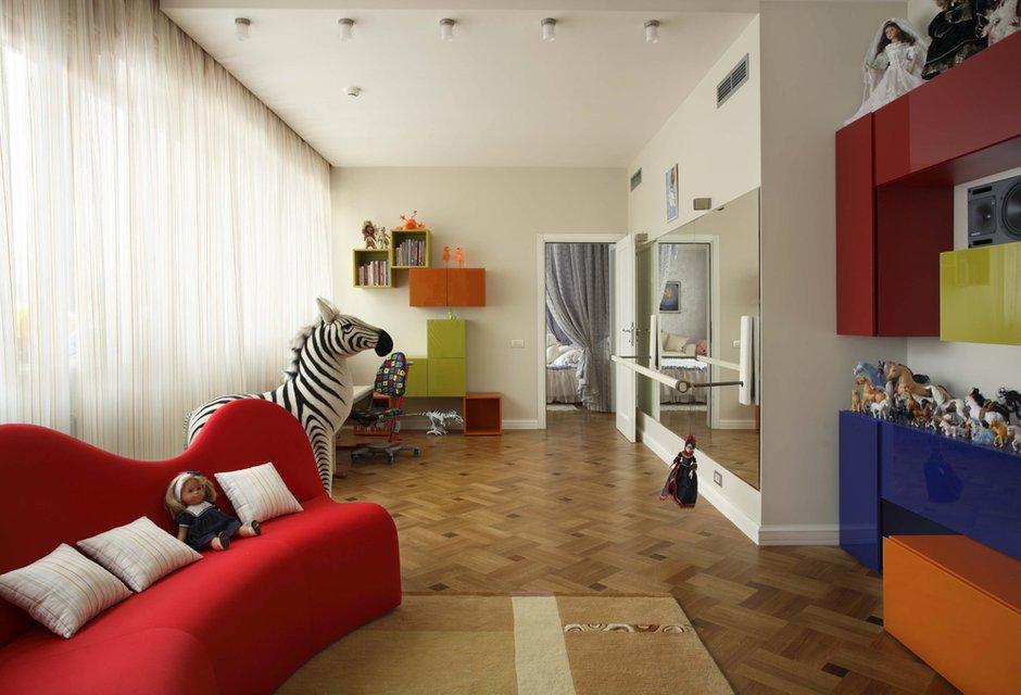 Фотография: Детская в стиле Современный, Эклектика, Классический, Квартира, Дома и квартиры, Модерн, Ар-нуво – фото на INMYROOM