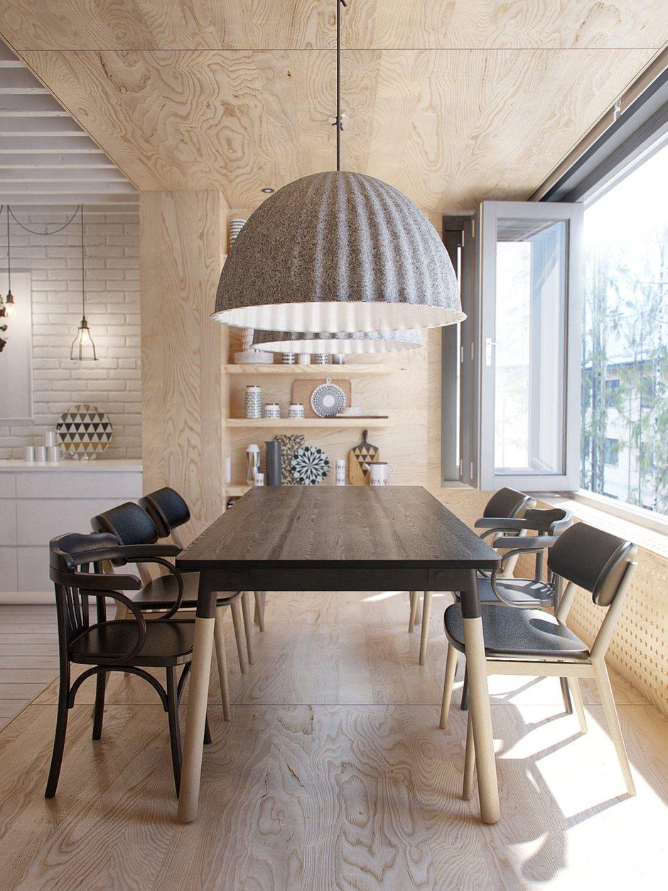 Фотография: Кухня и столовая в стиле Лофт, Квартира, Дома и квартиры, IKEA, Проект недели – фото на INMYROOM