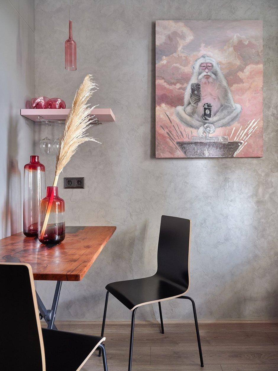 Фотография: Кухня и столовая в стиле Современный, Лофт, Малогабаритная квартира, Квартира, Студия, Проект недели, Москва, до 40 метров, Дина Удальцова – фото на INMYROOM
