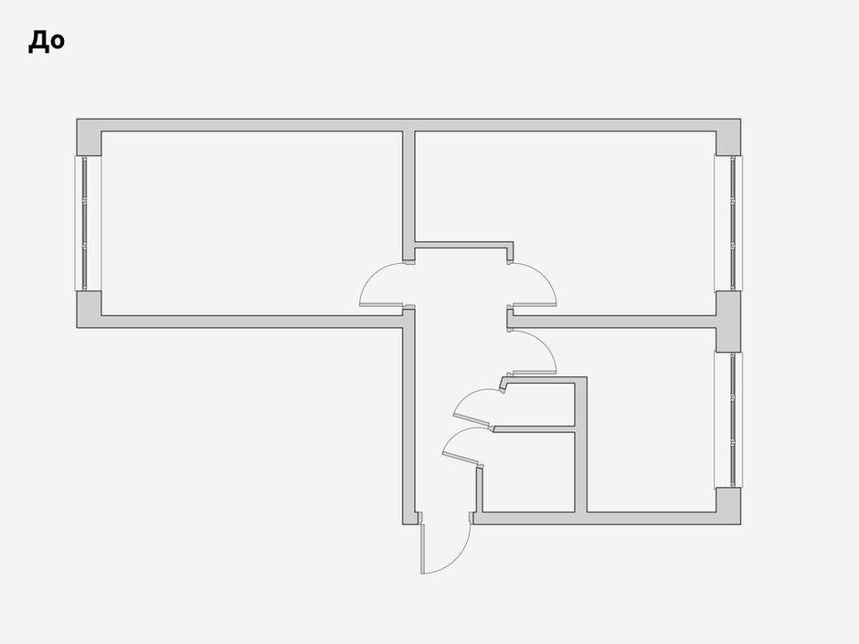 Фотография: Планировки в стиле , Скандинавский, Современный, Малогабаритная квартира, Квартира, Проект недели, Санкт-Петербург, Панельный дом, 2 комнаты, 40-60 метров, Bobo.space – фото на INMYROOM