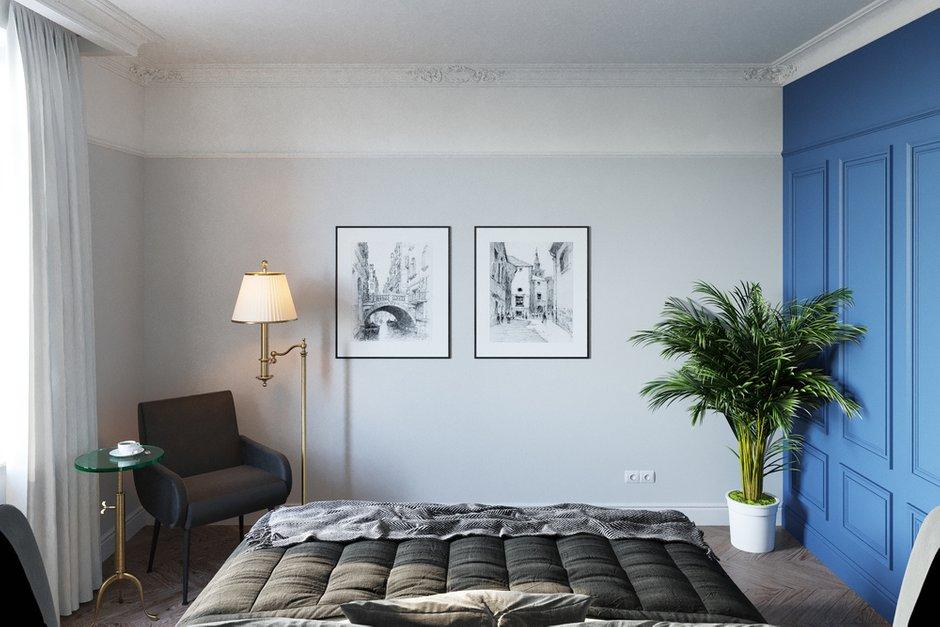 Фотография: Спальня в стиле Классический, Современный, Квартира, Проект недели, Москва, Светлана Старцева, Сталинка, 3 комнаты, 60-90 метров – фото на INMYROOM