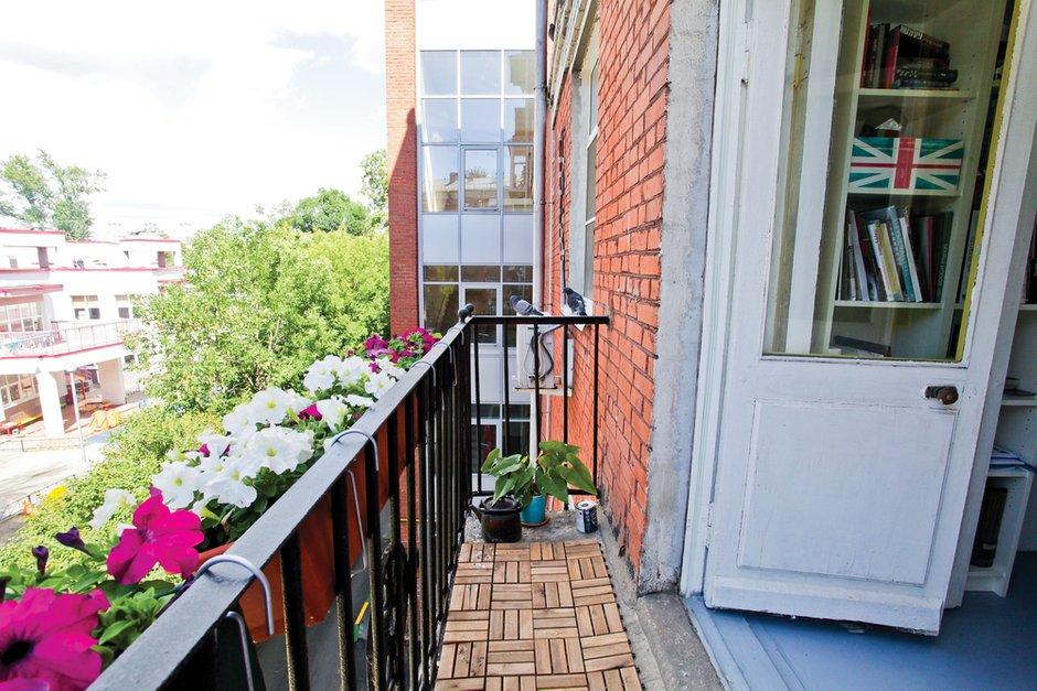 Фотография: Балкон, Терраса в стиле Лофт, Квартира, Дома и квартиры, IKEA – фото на INMYROOM