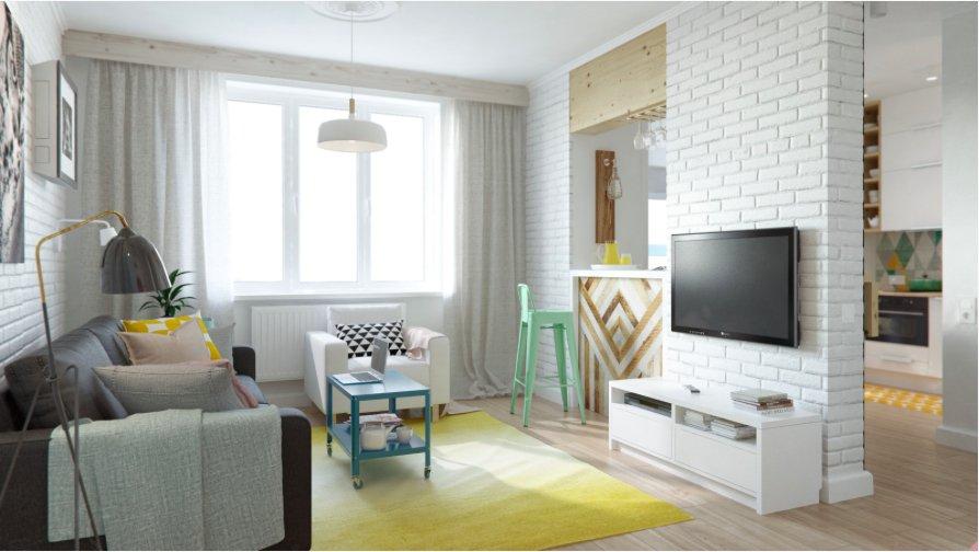 Фотография: Гостиная в стиле Лофт, Скандинавский, Декор интерьера, Квартира, Декор, Белый, Бежевый, Серый – фото на INMYROOM