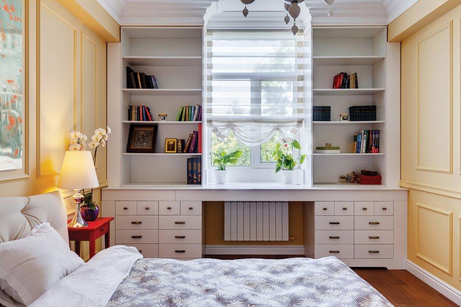 Фотография: Спальня в стиле Классический, Эклектика, Квартира, Дома и квартиры, Проект недели – фото на INMYROOM