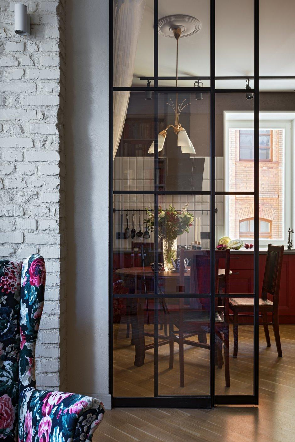 Фотография: Кухня и столовая в стиле Эклектика, Квартира, Проект недели, Минск, Сталинка, 2 комнаты, 60-90 метров, Алена Ерашевич – фото на INMYROOM