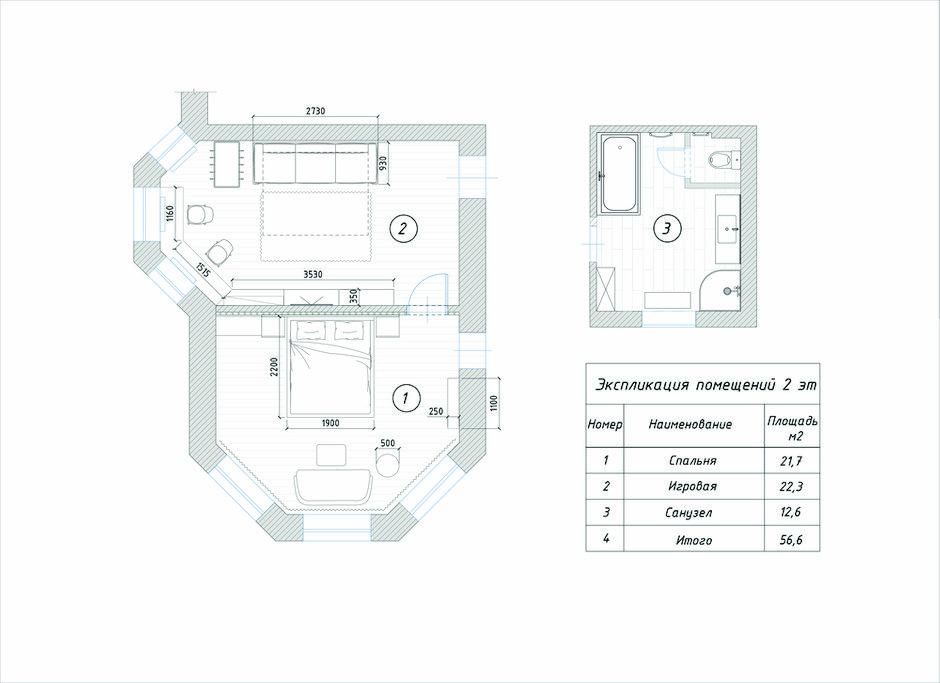 Фотография: Планировки в стиле , Лофт, Современный, Эклектика, Дом, Проект недели, Балашиха, 4 и больше, Более 90 метров, Deus of House – фото на INMYROOM