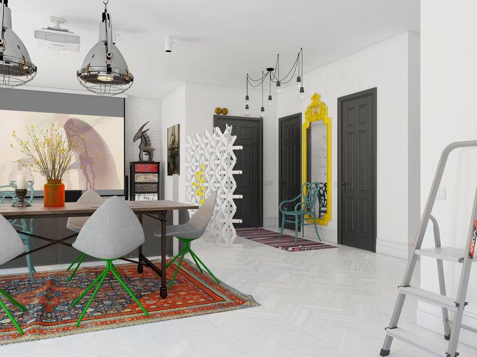 Фотография: Гостиная в стиле Хай-тек, Декор интерьера, Квартира, BoConcept, Eichholtz, Дома и квартиры, IKEA, Проект недели – фото на INMYROOM