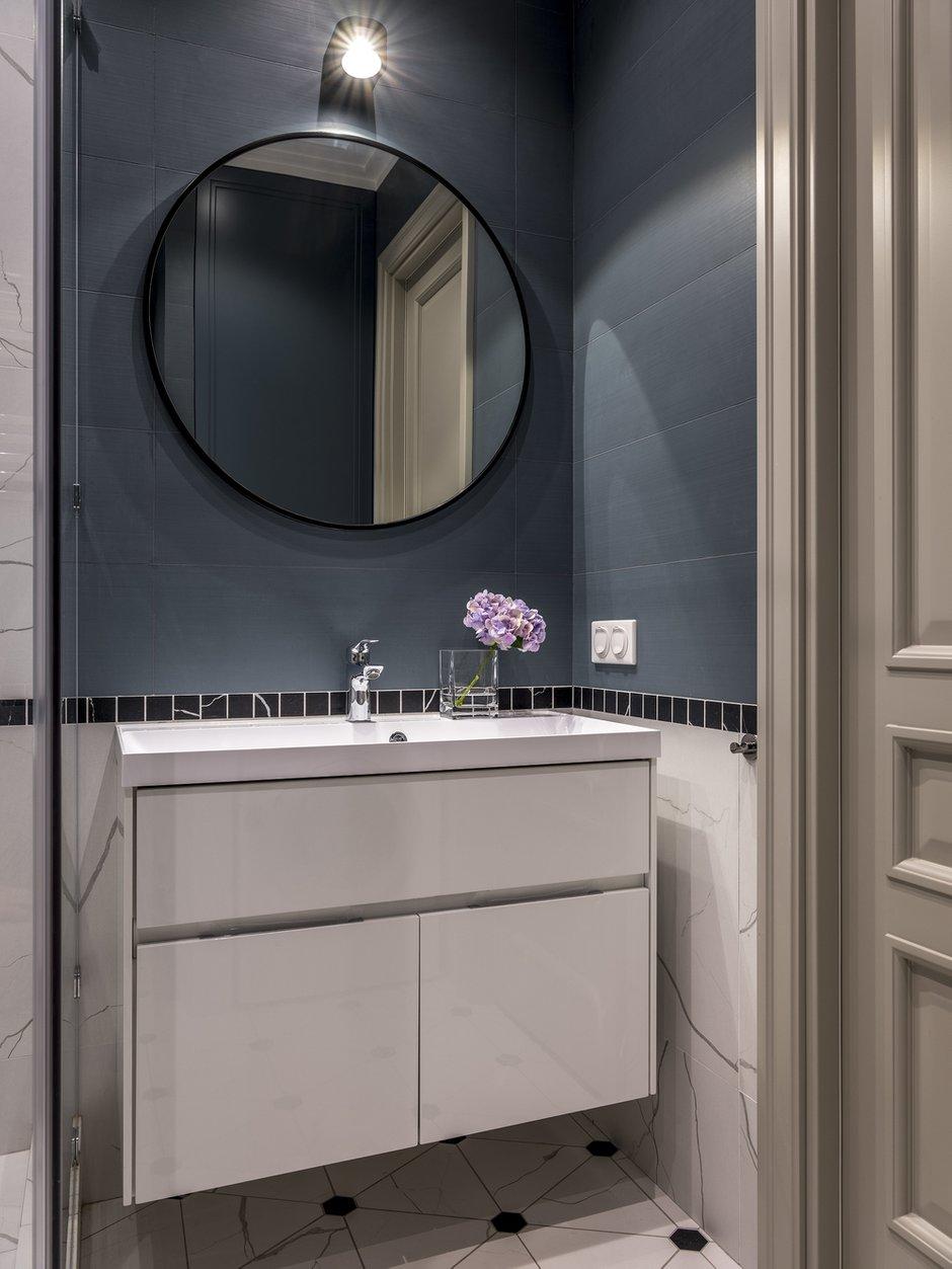 Фотография: Ванная в стиле Современный, Квартира, Проект недели, Москва, 4 и больше, Более 90 метров, Anddesign – фото на INMYROOM
