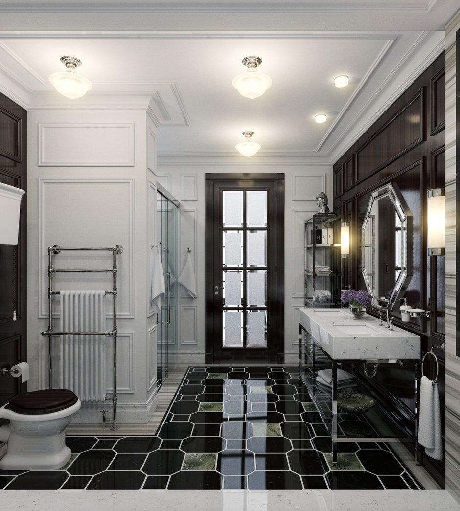 Фотография: Ванная в стиле Классический, Интерьер комнат, Проект недели – фото на INMYROOM