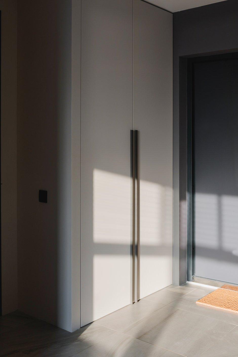 Фотография: Прихожая в стиле Современный, Квартира, Минимализм, Проект недели, Москва, 3 комнаты, 40-60 метров, Валерия Москалева – фото на INMYROOM