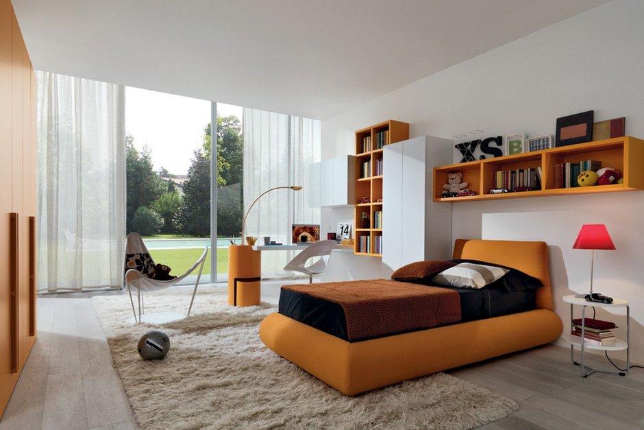 Фотография: Детская в стиле Современный, Декор интерьера, Дизайн интерьера, Цвет в интерьере, Dulux, Оранжевый, ColourFutures – фото на InMyRoom.ru