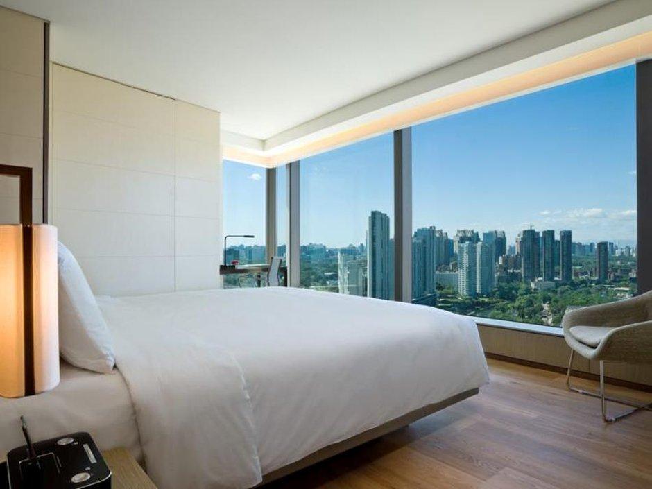 Фотография: Спальня в стиле Современный, Дома и квартиры, Городские места, Бразилия – фото на INMYROOM