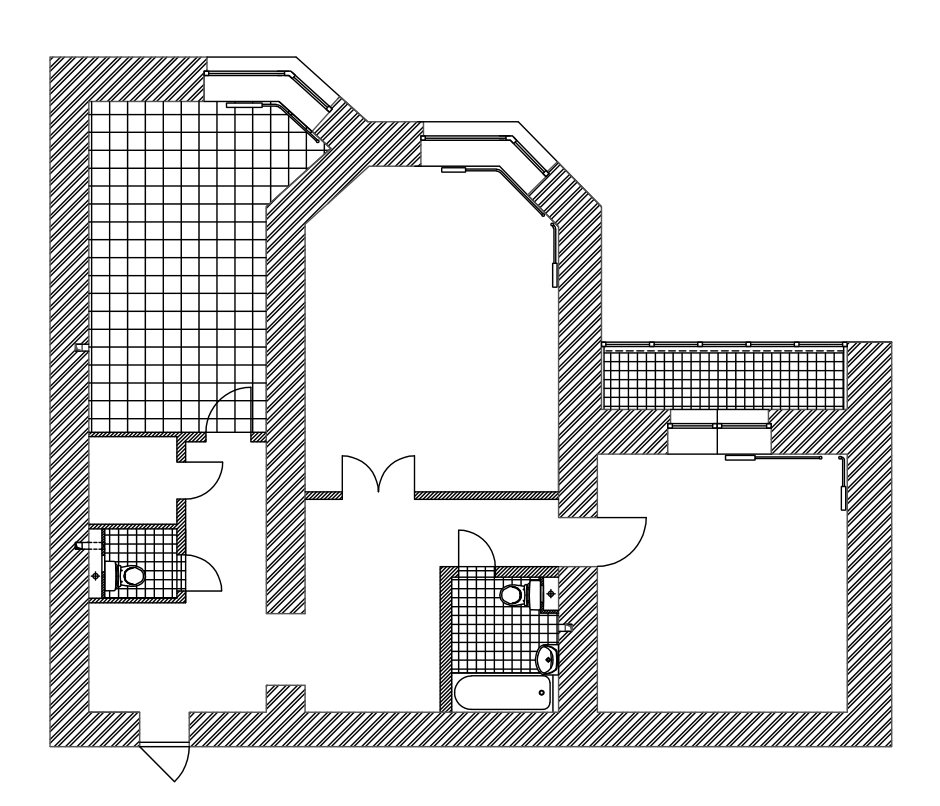 Фотография: Планировки в стиле , Современный, Квартира, Дома и квартиры – фото на InMyRoom.ru