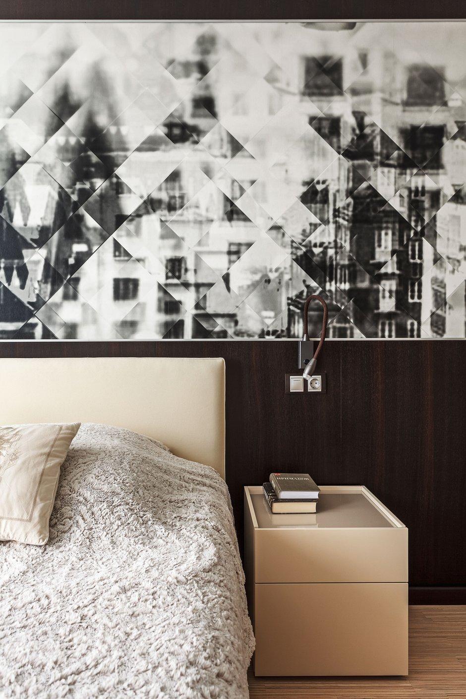 Фотография: Спальня в стиле Современный, Малогабаритная квартира, Проект недели, Михаил Новинский, Монолитный дом, 1 комната, 40-60 метров, Москав – фото на INMYROOM