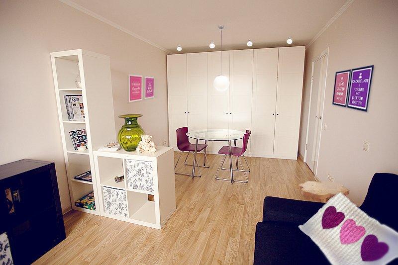 Фотография: Гостиная в стиле Современный, Малогабаритная квартира, Квартира, Дома и квартиры, IKEA, Переделка – фото на INMYROOM