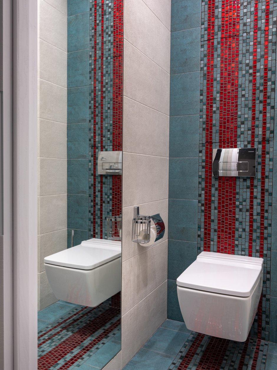 Фотография: Ванная в стиле Современный, Квартира, Проект недели, Москва, П-55, Панельный дом, 4 и больше, 60-90 метров, Анна Елина – фото на INMYROOM